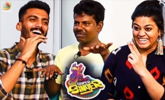 Singapenney Murugan Version | Vikram, Punya Fun Interview